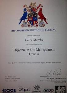 CIOB Site Management Diploma
